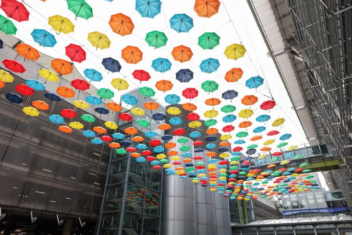 ADHD Foundation Umbrella Project, Heathrow T5 Launch, 2019 2