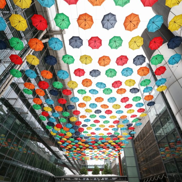 ADHD Foundation Umbrella Project, Heathrow T5 Launch, 2019