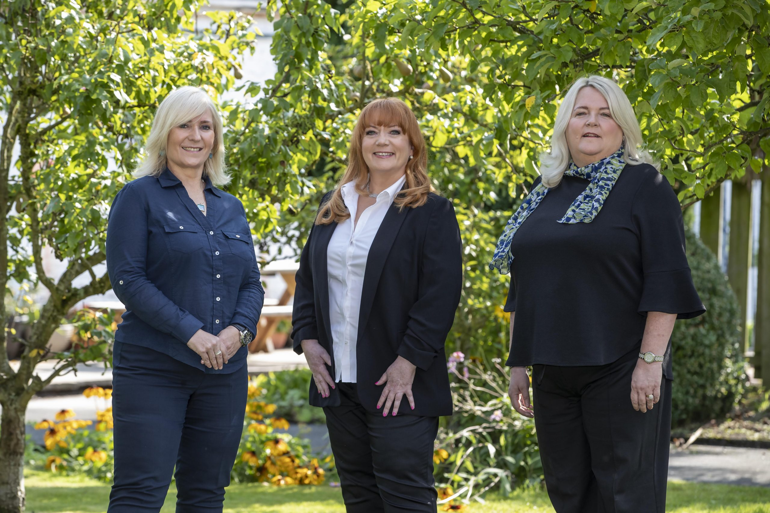 Nugent leadership team - Joanne Henney, Normandie Wragg, Sarah Dimmelow